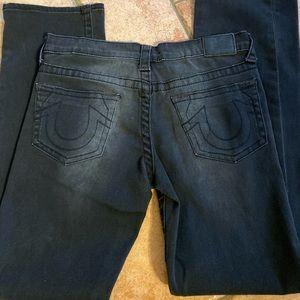 True Religions Boys Ricky  Black Jeans Sz 12